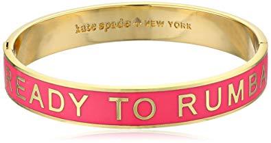 Kate Spade New York Idiom Bangles Ready To Rumba Hinged Bracelet